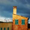 Before the Rain (. Jianwei .) Tags: blue light orange cloud yellow contrast decay disneyland laundry hanging duranduran 365 beforetherain a500 jianwei hollywoodstudio kemily