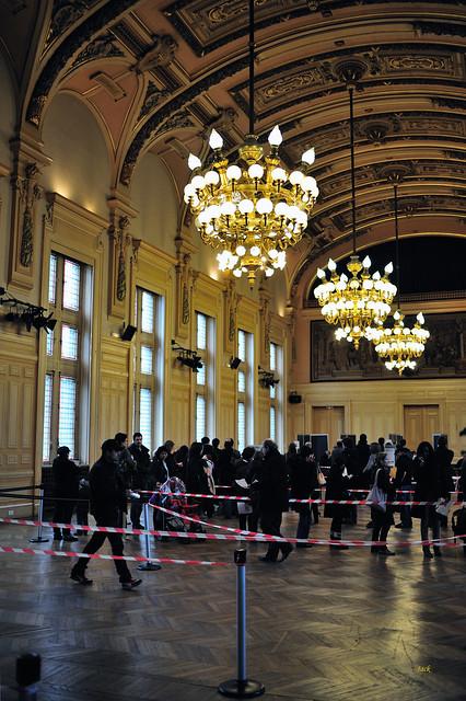 Salle des fêtes - Mairie du 13° - Paris
