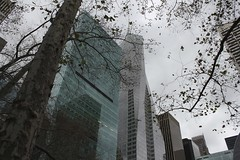 Over Bryant Park (Simone Lovati) Tags: winter newyork 2011