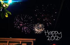 Happy 2012! :)) (~gciolini) Tags: new beach composition fireworks year grain poesia alegria caio fotografia edition happynewyear 2012 texto felizanonovo fogosdeartifcio caiofernandoabreu caiof gciolini