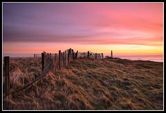 A fresh Start (greyridge) Tags: longexposure pink grass sunrise fence stmarys ligthouse