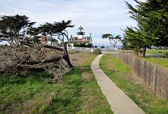 photo - Pt. Pinos Lighthouse 3 (Jassy-50) Tags: photo pacificgrove california monterey ptpinoslighthouse pointpinoslighthouse pointpinos ptpinos lighthouse montereychristmas monterey2011 fence