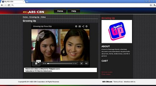 My ABS-CBN_Sample Video