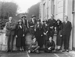 January 7, 1922 (National Library of Ireland on The Commons) Tags: family 1920s ireland party suits watch january hats wristwatch 1922 bighouse waterford munster beresford spats glassnegative comingofage twenties portlaw nationallibraryofireland delapoer furstoles ahpoole curraghmorehouse delapoerberesfords poolecollection arthurhenripoole