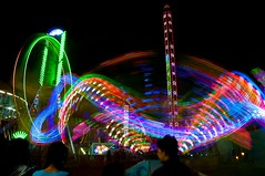 'Fair'-y tale (ujjal dey) Tags: longexposure fun tripod dreams lighttrails merrygoround ujjal nikond90 numaish nikon18105mm ujjaldey ujjaldeyin nampallyexhibitionground