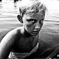 Wilderness (Capelson) Tags: wild lake water girl kid sweden ginordicjan12