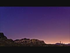 Arizona's Full Moon (Time Lapse) (stouglas12) Tags: arizona moon phoenix star long exposure time trails az full lit stacked lapse foreground startrail