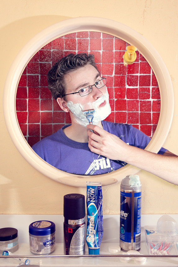 Shave more! (#08/52: new year