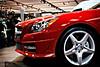 Sexy Slick (Yann Tastayre) Tags: auto show red toronto ontario canada wheel canon rebel mercedes benz headlight xs cias