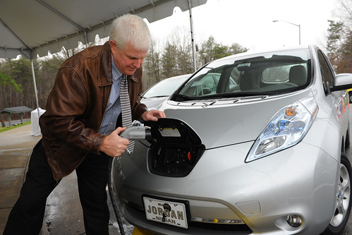 EV Charging Station Ribbon-Cutting