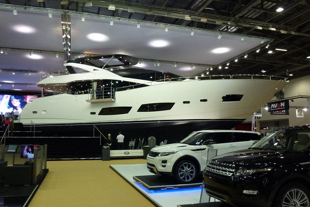 Sunseeker 28M Yacht London Boat Show 2012