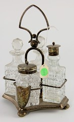 10. Antique English Cruet Set