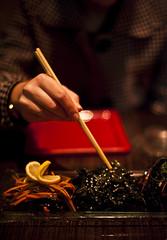 Sushi Samba (Or Hiltch) Tags: food seaweed japanese telaviv vegan sushisamba wakame