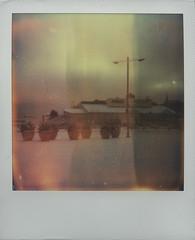 aurora (draun_quarter) Tags: travel winter sun snow film analog suomi finland polaroid polaroid600 impossible kotka polaroidimpulse firstflush colorshade impossibleproject px680
