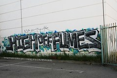 HIGH OFF FUMES HOF (SPEAR1X) Tags: street art up canon graffiti los high angeles off socal graff throw hof fumes throwie hofk
