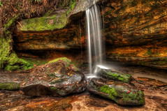 Little Somersby Falls (scatrd) Tags: waterfall cnet hdr somersby