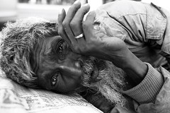 The Freedom Fighter (N A Y E E M) Tags: street portrait homeless disabled sick bangladesh chittagong freedomfighter outerstadium abulhashim