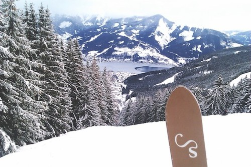 Skiing No. 14 in Zell am See