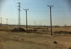 Electricity Pylons, Basrah, Iraq