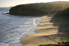 Bells Beach, Victoria Australia (Alex E. Proimos) Tags: ocean road sunset holiday beach bells drive coast surf driving afternoon bell rip famous great competition quicksilver victoria vic coastline curl greatoceanroad billabong comp