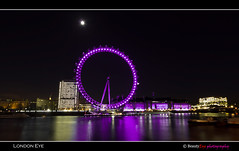 London - The Big Eye . . . (Beauty Eye) Tags: park city uk longexposure bridge sea london eye tower thames architecture night canon river dark landscape eos rebel lights europe long exposure nightshot unitedkingdom britain outdoor great londoneye gb tamron westminister t3i europen ultrawideangle   f3545  600d    leurope   beautyeye 1024mm  canon600d eneurope  tamronspaf1024mmf3545diiild rebelt3i diiild canon600deos tamronspaf1024mmf3545d