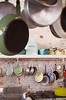Kitchen (Lauren Barkume) Tags: africa old blue vacation white kitchen lines bread southafrica december sink antique ct capetown pots hanging westerncape 2011 laurenbarkume gettyimagesmeandafrica1 oldbuscuitmill