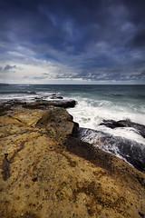 Hopes (Gemma Stiles) Tags: ocean sea seascape beach nature water clouds canon landscape coast rocks shoreline australia shore newsouthwales canonefs1022mmf3545usm australiancoast cronullabeach cokinfilters australiancoastline seascapephotography pseriesfilters canoneoskissx4