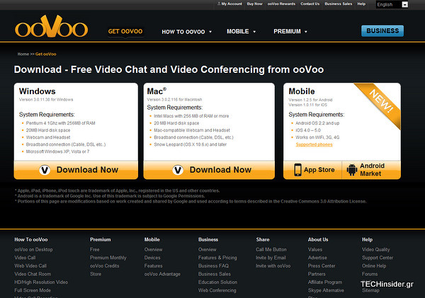 oovoo windows mobile