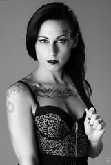 Instinkt (krazykevcool) Tags: ladies portrait woman sexy beauty tattoo lady model glamour nikon pretty sassy gorgeous sb600 tattoos babes softbox tattoed pocketwizard strobist sb700 nikonflickraward