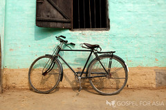 A simple bike can work wonders (Gospel for Asia) Tags: india bicycle asian hope asia god jesus joy bicycles hopeless believers gfa hopeforthefuture gospelforasia gospeltracts asianchurches kpyohannan