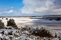 Nieve en Tobarrilla (Jose Casielles) Tags: color luz luces nieve paisaje nubes campo sombras yecla primerasnieves almansa tobarrillas fotografíasjcasielles