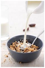 breakfast (London ) Tags: light food white breakfast dessert nikon bokeh telephoto tender d700