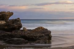 ---))) (Carmen Lario) Tags: sea sky espaa beach water clouds mar andaluca sand agua playa arena cielo nubes almera mojcar carmenlario