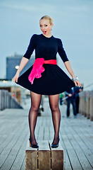 Urban vampire (zar_kor) Tags: sunset red black hot cute girl beauty port canon model photographer dress tel