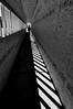 Vanishing Point (Bill Gracey 17 Million Views) Tags: light blackandwhite vanishingpoint shadows patterns perspective tunnel superaplus aplusphoto