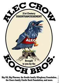 ALEC CROW - 21st Century Disenfranchisement, From FlickrPhotos
