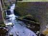 Swirly flow (Lee M Wyatt) Tags: mill water river portland pond long exposure fuji dusk reservoir viaduct kings flowing hermitage nottinghamshire mansfield maun exr suttoninashfield hs30
