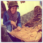 Carving up a saint (Ouro Preto, Brazil)