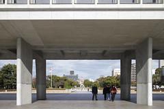 Hiroshima Peace Park (10) (evan.chakroff) Tags: park 1955 japan landscape memorial hiroshima 1949 peacepark ksa kenzotange tange 広島市 tangekenzō 19491955 ksajapan2013 hiroshimapeacecenterandmemorialpark