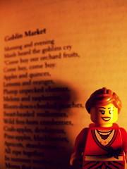 Christina Rossetti: Goblin Market (Pickman's Paintbrush) Tags: lego writers goblin writer minifigs authors testshot christinarossetti goblinmarket legography legoauthor legoauthors legowriters legowriter
