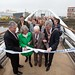 First Minister, Abigail Dunn, Jackie Maguire and Lord Mayor open bridge