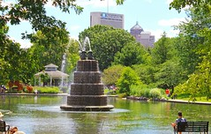 The Heart of Victorian Village (Eridony) Tags: park columbus ohio water fountain pond victorianvillage goodalepark publicpark franklincounty