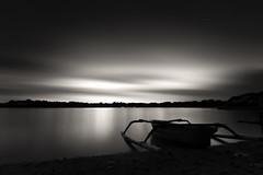 .. pulau serangan (Rizki Mahendra) Tags: longexposure sunset bw beach pulauserangan