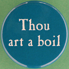 Thou art a boil (Leo Reynolds) Tags: canon eos iso100 pin badge button squaredcircle 60mm f80 0125sec 40d hpexif 033ev groupbuttons grouppins groupbadges xleol30x sqset101 xxx2014xxx