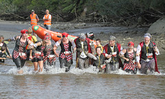 (Paul J's) Tags: river costume mud pirates event taranaki mudrun urenui nakirunamuck