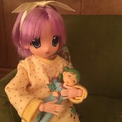 Tsukasa & Yotsuba will listen, too. (Ringochan39) Tags: anime doll yotsuba luckystar mamachapp