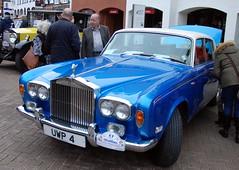 Silver Shadow, Stratford-upon-Avon Festival of Motoring 2016. (Roly-sisaphus) Tags: uk greatbritain england cars unitedkingdom gb warwickshire automobiles stratforduponavon midlands festivalofmotoring nikond802016dsc0586
