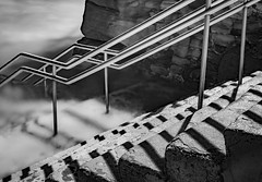 Enter the unknown (Martin Snicer Photography) Tags: longexposure bw water dark 50mm haunted spooky 6d