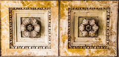crested stone (fkoepke) Tags: muster stone wall texture pattern flower artificial