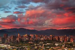 Las Condes after the Rain (Matias Negrete Pincetic) Tags: chile las santiago sky galen burn condes rowell